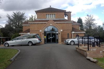 Solihull Robin Hood Crematorium Chapel Entrance