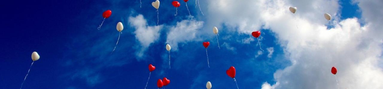 Celebrant for Funerals Release of balloons